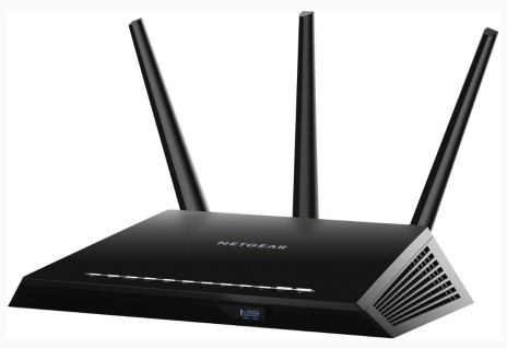 The Nighthawk Router from Netgear provides stronger, and faster Wi-fi connectivity.