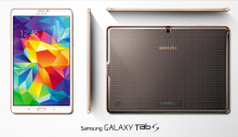 Both the 8.4 and 10.5 versions of the tab S are amazingly light to hold with bright screens.