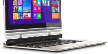 The new Toshiba convertible Windows notebook and tablet in one.