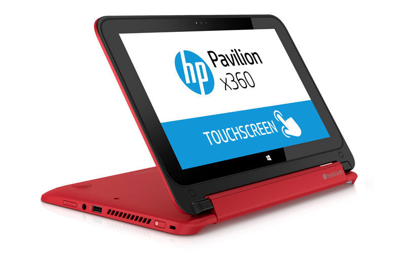 The HP Pavilion x360 has some neat tricks for extra functions in different situations.