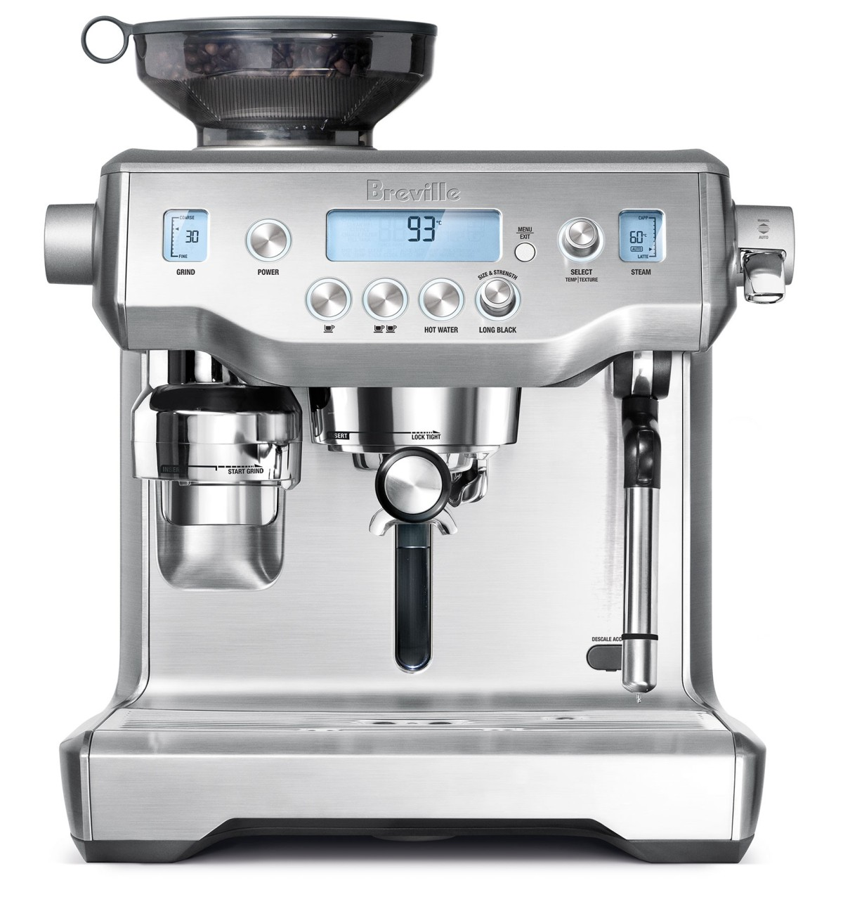 Breville Oracle Coffee Maker Highlights