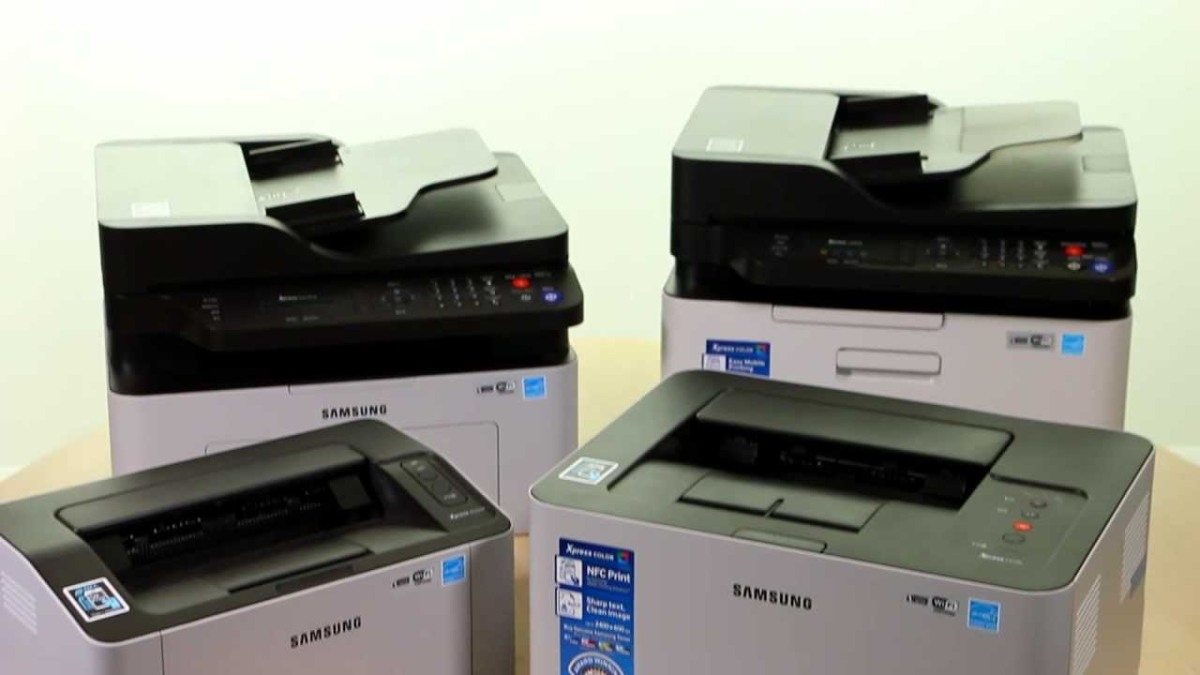 New SAMSUNG Xpress NFC Printer Range