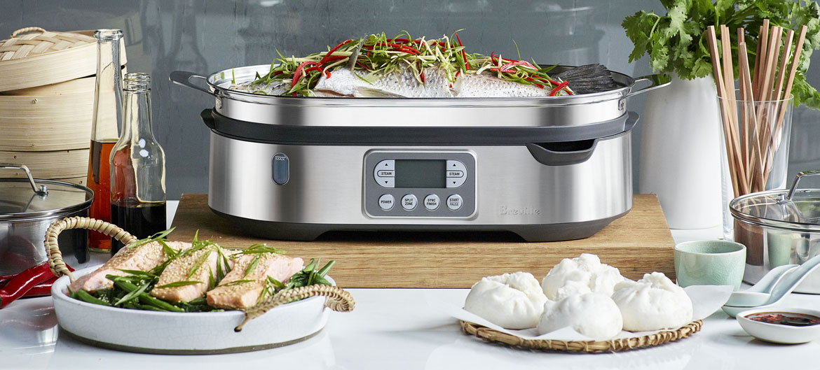 4 mouth-watering recipes to cook in your Breville Steam Zone™