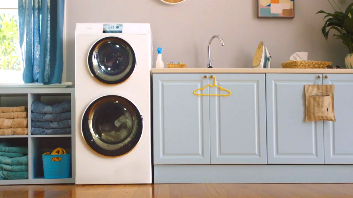 Washing loads together but not 'together together' with the Haier TwinTasker