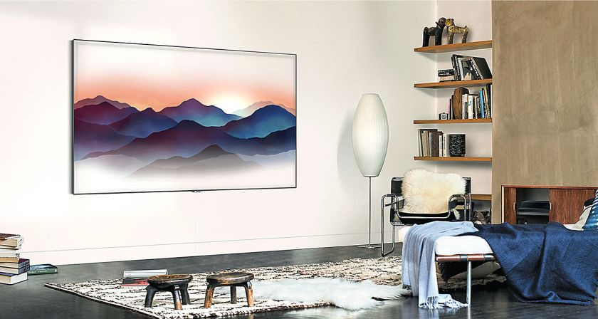 Samsung art work Q7 QLED 4K UHD TV
